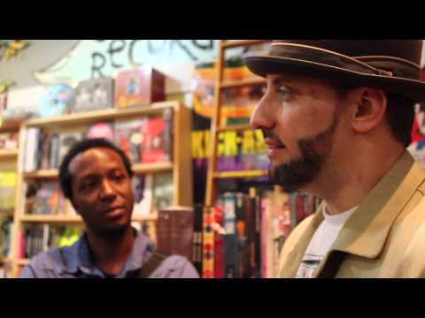 Hip Hop - During the A3C we caught up with R.A. The Rugged Man at Criminal Records. Watch our convo with him as he shares some great hip hop stories with us. R.A. shar...