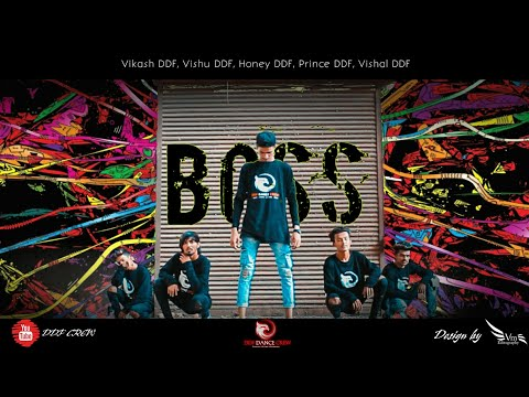 Video Boss Title Song | DDF DANCE CREW | HIP HOP CHOREOGRAPHY download in MP3, 3GP, MP4, WEBM, AVI, FLV January 2017