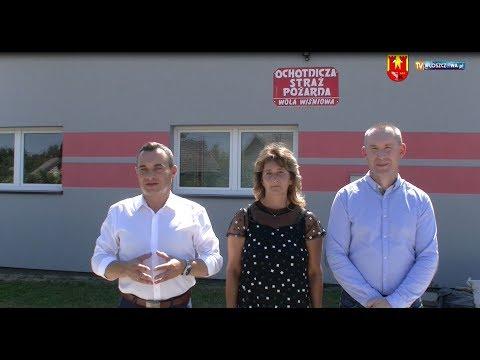 Burmistrz Gminy Włoszczowa oraz Starostowie Dożynek zapraszają do Woli Wiśniowej
