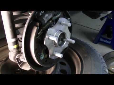 How to Replace Rear Ball Bearing Hub of a Scion xA xB