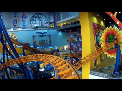 time square - Follow us on Twitter http://www.twitter.com/themeparkreview and Facebook http://www.facebook.com/themeparkreview - Front seat POV, back seat, and rider cam o...