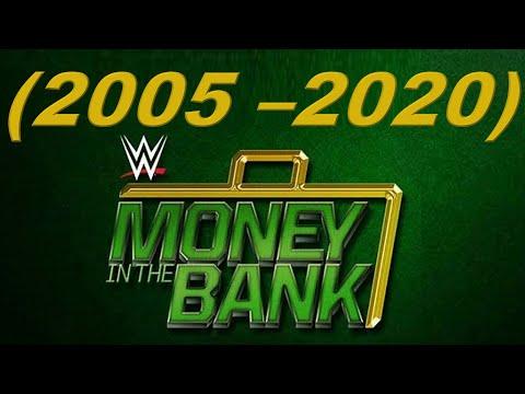 MONEY IN THE BANK (2005 - 2020) WINNERS / GANADORES