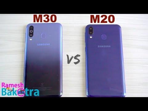 Samsung Galaxy M30 vs Galaxy M20 SpeedTest and Camera Comparison - Thời lượng: 6 phút, 7 giây.