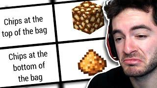 Relatable Minecraft Memes