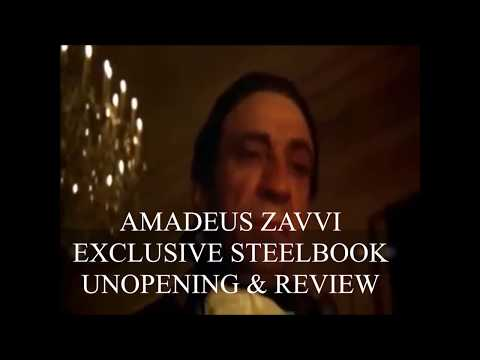 Zavvi Exclusive Amadeus Steelbook Unboxing