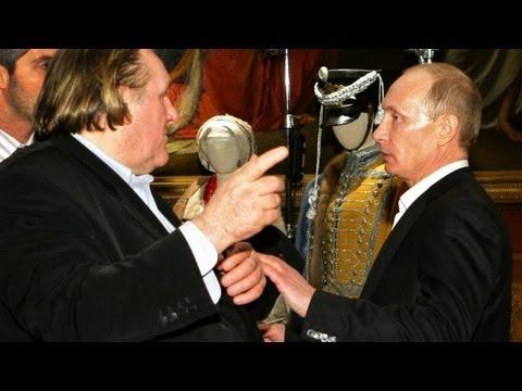 Putin gives Depardieu citizenship