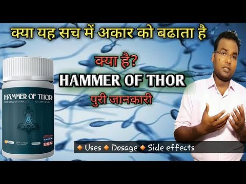 Hammer of thor | Really increase the size of the penis? | How Many Sexual Diseases Work ?