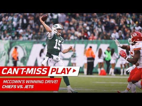 Video: Josh McCown Game-Winning TD Drive & Crazy 2-Pt Conversion! | Can't-Miss Play | NFL Wk 13 Highlights