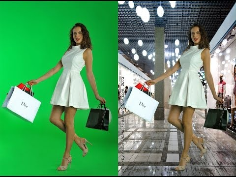 Fashion Photography workshop – Tips how-to make GREAT model photos on Green Screen Studio Chroma key