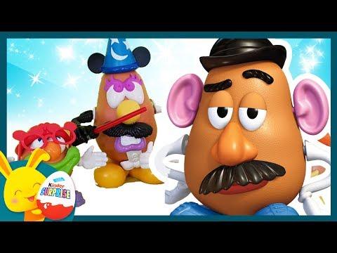 Monsieur Patate: Histoire de jouets Touni Toys. Toys Story. Titounis