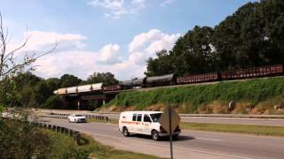 Tuscumbia (AL) United States  city images : Tuscumbia Alabama-Norfolk Southern 1121 in 4k