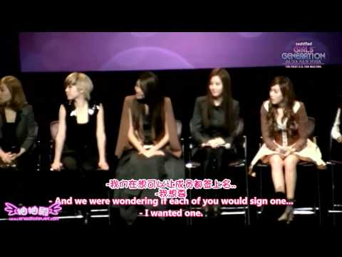 【中字】111024 SNSD @ The First U.S. fan meeting