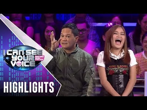 I Can See Your Voice PH: Janine, napahalakhak sa joke ni Bayani (видео)