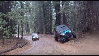 10. 2019 RZR XP4 Turbos in the mud and snow
