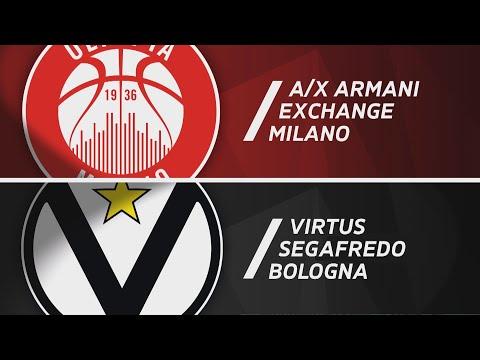 Serie A 2020-21 highlights: <br>A|X Armani Exchange Milano-Virtus Segafredo Bologna