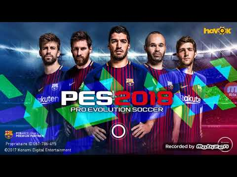 Comment Telecharger Pes 2018 Sur Android