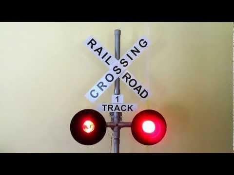 scratch built railroad crossing signal hackaday