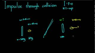 See more videos at:http://talkboard.com.au/In this video, we look at how to use the impulse acting on an object to find the final velocity. We do this even when the initial velocity is non-zero.