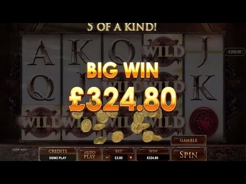 Game Of Thrones Slot Machine Promo - Microgaming