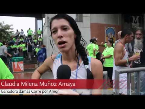 """Medellín corrió """"Por Amor"""""""