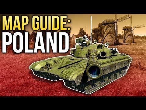 War Thunder. Map Guide: Poland