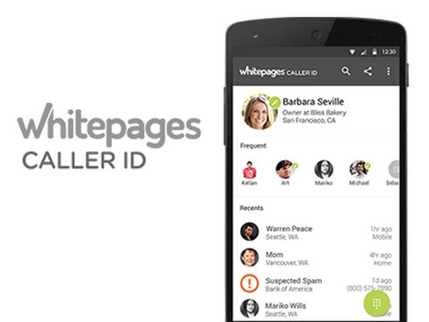 Video of Whitepages Caller ID & Block