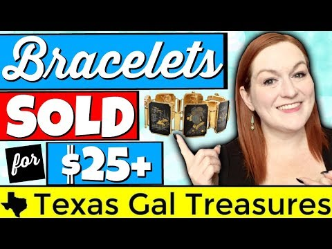 Selling Jewelry Online - Bracelets I Have Sold for $25+ - What to Look For With Jewelry
