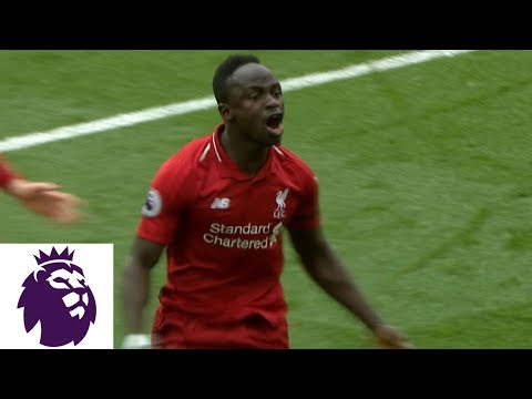Sadio Mane's Header Puts Liverpool Up 1-0 V. Chelsea | Premier League | NBC Sports