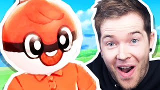 This Man is a POKEBALL in Pokemon Sword!