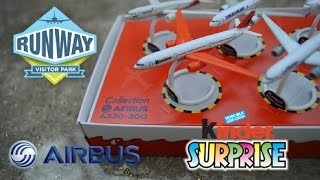 In this super cool video Bentley opens special 5 Kinder Surprise Eggs Airbus A330-300 (Kinder plane, Turkish Airlines, Lufthansa, Asiana Airlines, Airbus) plus Bentley and Aubree take a trip to Manchester Airport runway visitor park and see airplanes in person. We show the unwrapping of 5 Kinder Surprise eggs Airbus A330-300 Limited Edition miniature toys.It comes with 5 different airplanes from 5 different airlines: Kinder Surprise Airline plane, United Airlines, Lufthansa, Turkish Airlines, and Asiana Airlines. Great addition to any Kinder collector's collection.THE RUNWAY VISITOR PARKEnjoy a great day out for all ages.  Take a front row seat to watch the planes take-off, enjoy a restaurant with a view like no other, take home a souvenir and round the day off with a guided tour of BA's flagship Concorde.Planes and Park FacilitiesRaised Viewing Mounds give a clear 180-degree view over the airfield. There are approximately 600 aircraft movements each day so there's always something to see.Children's Play Area  Facility opened in 2011Aviation Shop Make your trip extra memorable with a range of aviation-related products suitable for children through to the serious enthusiast.British Airways, BMI Baby, Brussels Airlines, Greater Manchester Police Britten-Norman BN-2T-4S Defender 4000, Viking Airlines, Aer Arann, Ryanair, CityJet, Flybe, Emirates, BMI, Lufthansa, American Airlines, EasyJet, Turkish Airlines, Jet2, Cathay Pacific Cargo, Pakistan International Airlines, Thomson Fly, Contact Air, KLM, Air France, Libyan Airlines, Etihad, Swiss Air, and Qatar Air.  Airbus, Boeing Embrear, and Fokker. Models include A319, A320, A330, A380, 737, 747, 757, 767, and 777.Kinder Surprise other languages:Kinder Surprise, Kinder ـberraschung, Kinder Ferrero, Kinder Meglepetés, Kinder Sorpresa, Kinder Ovo, Kinder Chocholate, Chocholate egg, Kinderschokolade, kinderueberraschung, Kinderoverraskelse, Kinder Niespodzianka, Kinderنgg, Surprise eggs, Kinder, Kinder Toy, KindereggToys in 