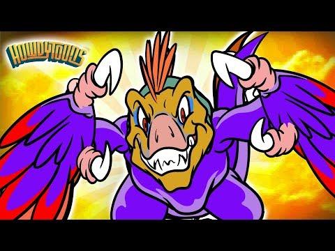 Velociraptor Dinosaurs | Dinosaur Songs for Kids from Dinostory by Howdytoons | S2E4