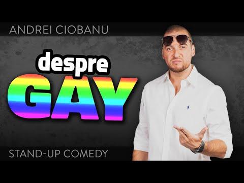 ANDREI CIOBANU - DESPRE GAY stand-up comedy Club 99