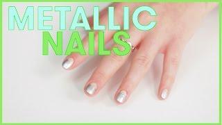 METALLIC Nail Deisigns by Seventeen Magazine