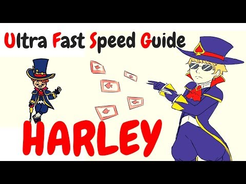 HARLEY | Ultra Fast Speed Guide #19 | Shinmen Takezo | Mobile Legends