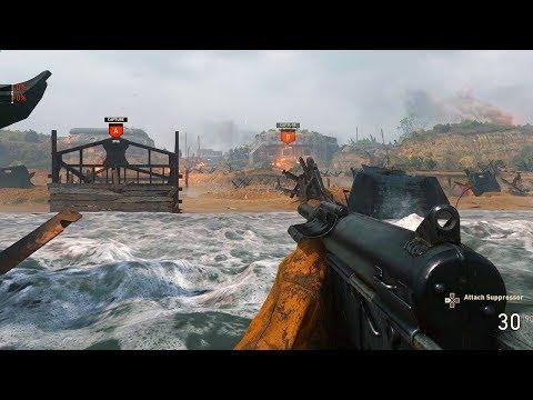 COD WW2 WAR GAMEPLAY - D-DAY MISSION (Multiplayer Gameplay)