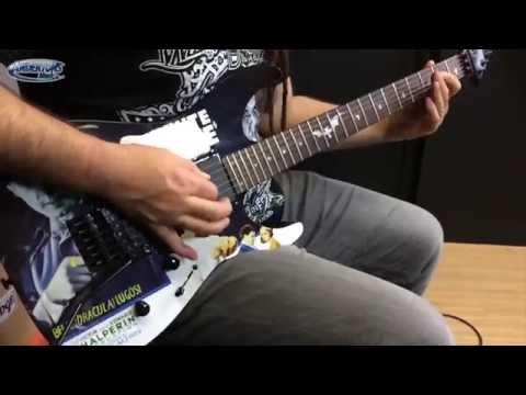 Metallica's Kirk Hammett tone - ESP LTD KH-WZ White Zombie