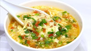 Healthy Egg Soup Recipe | अंडे का सूप | Egg Drop Soup Recipe | Kabitaskitchen