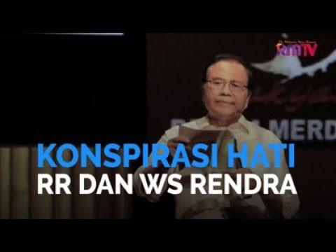 Konspirasi Hati RR dan WS Rendra