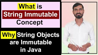 What is String Immutable || Why String Object Is Immutable In Java (Hindi)