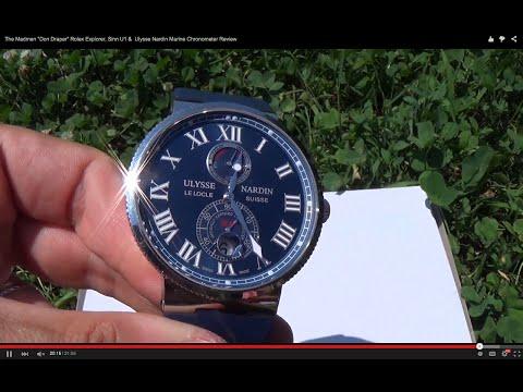 Как я купил копию ulysse nardin marine chronometer и ...