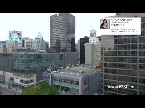 Upscale Condo for Rent in Downtown Center, Vancouver, BC, Canada