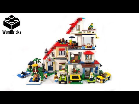Lego Creator 31069 + 31068 + 31067 Modular House Super Build - Lego Speed Build