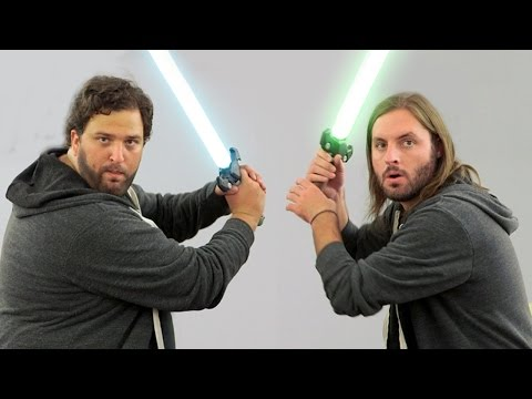 office - Check out Sam Macaroni ▻ http://bit.ly/1w9vvu1 More Warped Humor! ▻http://bit.ly/1oZYfvm Subscribe here! ▻ http://bit.ly/Sub2TWZ NERF STAR WARS - OFFICE JEDI...