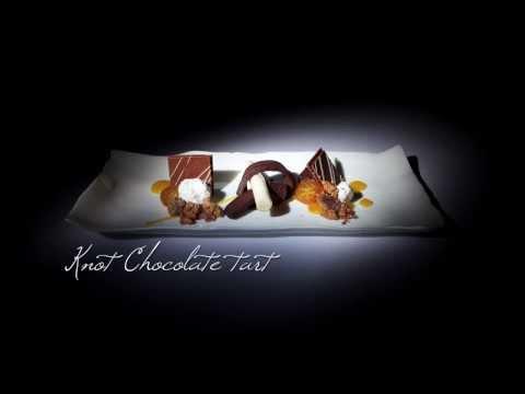 Knot Chocolate Tart