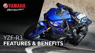 6. 2019 Yamaha YZF-R3 Features & Benefits