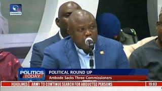 Governor Ambode Sacks Three Commissioners