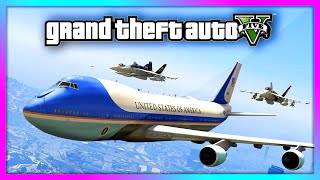 • GTA 5 - Air Force One 747 Jumbo Jet Gameplay with INTERIOR! Presidential Air Fleet! (GTA V) • Subscribe For More: http://bit.ly/SubscribeRRS • Follow me on...