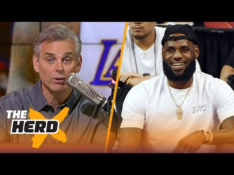 Colin Cowherd with a detailed argument on why LeBron in L.A. is 'going to work'  NBA  THE HERD