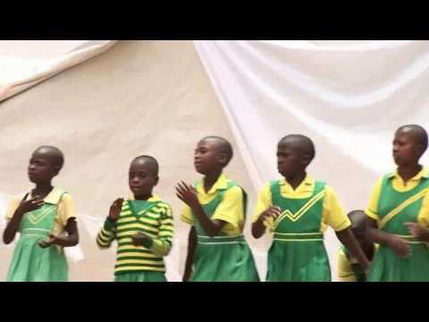 Deaf children in CA Kabale performing for visitors in 2011