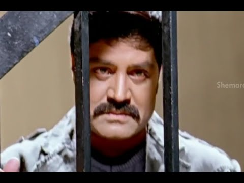 Badradri Full Movie Scenes - Srihari goes to jail & surrenders himself to Police - Nikitha, Raja